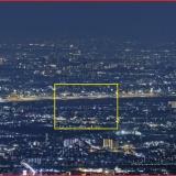 8億画素で六甲山から夜景撮ったから見てくれ