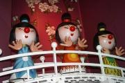 オランダ最大の遊園地、人形が「人種差別的」と批判受け変更へ