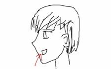 『アニメキャラの横顔って冷静に考えたらおかしないか?(※画像あり)』の画像
