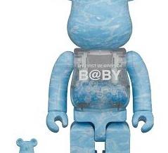【6月発売予定】MY FIRST BE@RBRICK B@BY WATER CREST Ver.100% & 400%/1000%