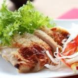 『今週のランチ(4/8~若鶏塩麴焼&サバと半熟卵の焼きカレー)』の画像