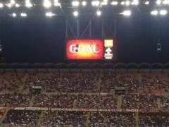 【動画】ミラン×ローマ、前半終了!本田アシストでミラン先制!1-0で折り返す!