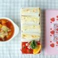 ◆ポテサラサンドイッチ弁当