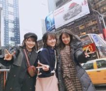 『【祝】モーニング娘。'18横山玲奈完全復活!!憧れのニューヨークで思わずVサインwwwwwwwwwwwwwwww』の画像
