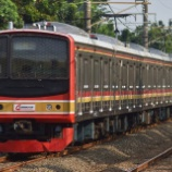 『短いメルヘン!!6連で復活!!205系武蔵野線M65編成マンガライへ回送される(8月9日)』の画像