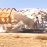 【動画】中国、集めた綿花に砂をぶっ掛ける!理由は重量水増しして高く売るため…