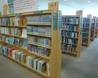 『岡山県立図書館の交通文化資料コーナー』の画像