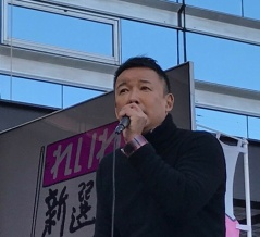 右翼に「こっち来て質問すればいいのに」と山本太郎氏 横浜