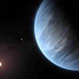 『【宇宙】地球型惑星に『水蒸気』の存在を初めて確認』の画像
