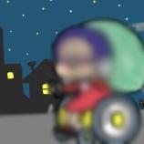 『電動車いす時速6キロで年末○○計画』の画像