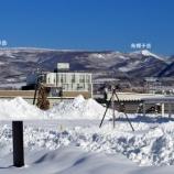 『1月13日 朝!函館市桔梗町も雪でまっ白!』の画像