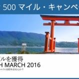 『DAL 2015年ニッポン500マイルキャンペーンを振り返る』の画像