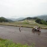 『松尾(契約栽培田)の田植えが始まりました』の画像