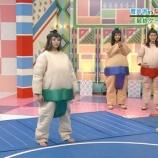 『これは名勝負!鈴本美愉と渡邉理佐の相撲がガチすぎる!笑【欅って、書けない?】』の画像