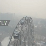 【動画】ロシア、中国から重スモッグ襲来!ハバロフスクが真っ白に!ドローン空撮映像 [海外]