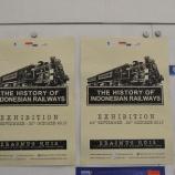 『インドネシアの鉄道歴史展』の画像
