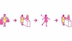 【店】   日本の衣類店から 「服を試着したまま、外に歩けるサービス」が始まる。  海外の反応