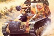 かっこいい戦車と戦闘車両の絵
