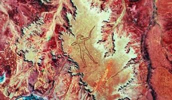 オーストラリアの砂漠に謎の巨大地上絵!深まるミステリーに「一体誰が、どうやって?」