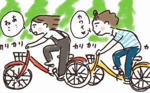 ほぼ毎日自転車で走っているのに