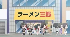 【ガルパ☆ピコ】第10話 感想 蘭とモカの2人でラーメン二郎…じゃなくて三郎へ
