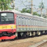 『3か月ぶりに運用復帰もトホホな武蔵野線…205系M24編成』の画像
