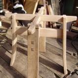 『樽の家具つくり・4』の画像