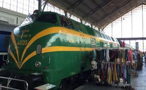 マドリードの鉄道博物館を