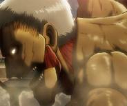 進撃の巨人 第2話 鎧の巨人の突進やべぇww