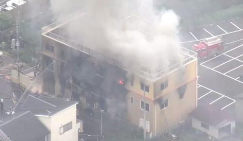 京都アニメーション第一スタジオで放火による火災発生(第一報時点での海外の反応)