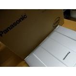 『新しく購入したPCのセットアップをします! Panasonic  ノートPC』の画像