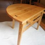 『3通りに使えるテーブル・オオムラサキ』の画像