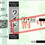 『回顧 - 桜花賞馬の法則 - 第52回 シンザン記念 2018』の画像