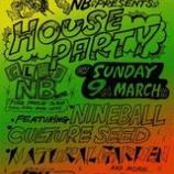 『[奈良] 3/9(sun) 『HOUSE PARTY〜2nd Sunday Every Month〜』 @club NB』の画像