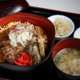 『JAL×はんつ遠藤コラボ企画【青森編2】1日め・パイカ蒲焼丼(おおせっか)』の画像