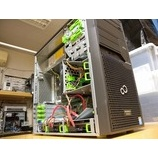 『富士通 PRIMERGY TX100S RAID1 データ復旧作業』の画像