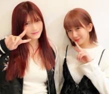 『岡井明日菜のSHOWROOMに岡井千聖登場!』の画像