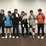 『◇仙台卓球センタークラブ◇ 仙台市春季卓球リーグ戦(女子の部) 結果』の画像