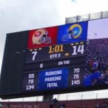 『ロサンゼルス旅行記15 【NFL現地観戦】サンフランシスコ・49ersVSロサンゼルス・ラムズ(試合後編)』の画像