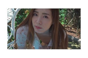 加藤櫻子のノーブラでかがんでスケベ乳首