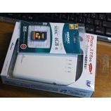 『【Wi-Fiストレージ】WiDrawer:REX-WIFISD1 Wi-Fi SD カードリーダー(ラトックシステム)を買った。【Retina iPadでHD動画を観る】』の画像