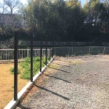 『【DIY】フェンス用支柱の設置』の画像