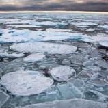『北極圏の海氷「最後の砦」が崩壊』の画像