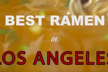 美味そうに見える?ロサンゼルスのベストラーメン – Daikokuya, Shinsengumi, Tatsu Ramen
