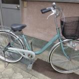 『リサイクル自転車 ミヤタ自転車製』の画像