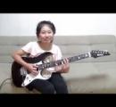 日本人の天才ギター少女が超難曲をカバー 全世界のメタルファンがあ然