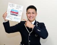 【阪神】西純が入寮 友達からの寄せ書きを抱え…小学校の野球仲間「原点です」
