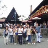 2008.8.9(土)清里・清泉寮周辺トレッキングとひまわり畑 参加者14名のサムネイル