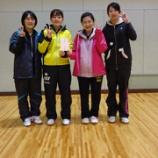 『◇仙台卓球センタークラブ◇ 平成27年度仙台市秋季リーグ戦(女子の部)』の画像
