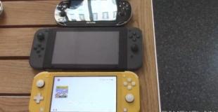 新型「Nintendo Switch Lite」と他ハードのサイズ比較映像が公開!